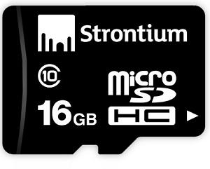 Strontium 16GB MicroSD Card