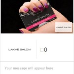 Lakme Salon Gift Card
