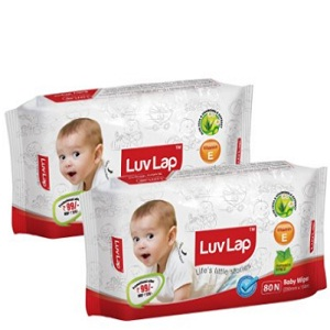 Luvlap Paraben Free Baby Wet Wipes