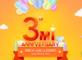 Redmi 3rd Anniversary Sale