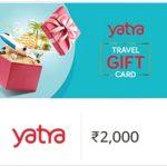 Yatra Gift Voucher 20% Off