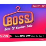 Flipkart Boss Festival Sale December 2018
